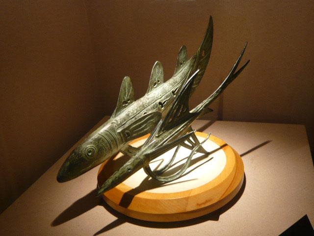 佐々木象堂氏 粧魚