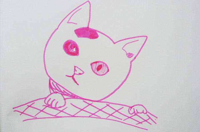 かご猫 イラスト みみ 小さい頃